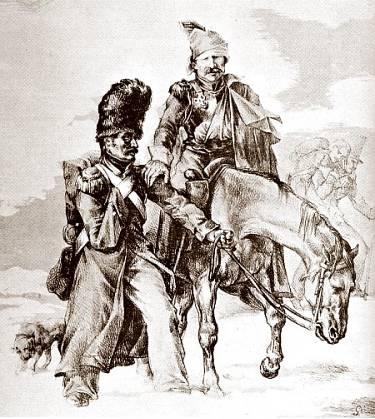 soldaten onder napoleum